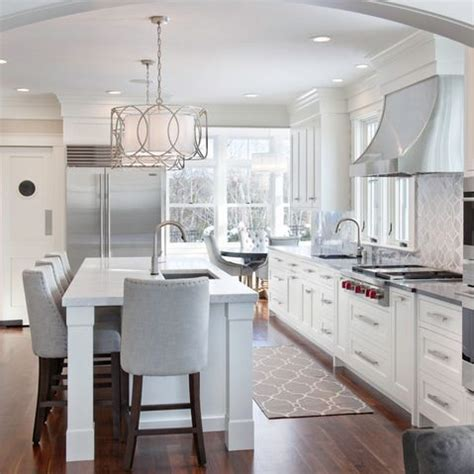 white kitchen light fixtures beautiful white grey kitchen kitchen reno pinterest