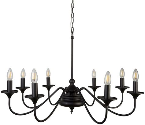 black chandeliers uk elizabethan large 8 arm chandelier ceiling light matt