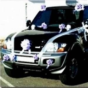 Noeud De Voiture Mariage : d coration voiture mariage article pas cher pour d co voiture kit d co voiture ~ Dode.kayakingforconservation.com Idées de Décoration