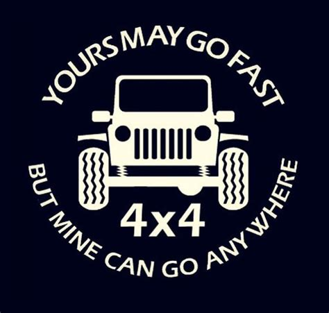 jeep beach decals jeep go anywhere vinyl decal stickers
