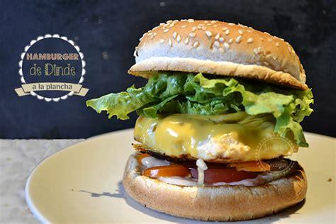 plancha hamburger recette dhamburger de dinde ou poulet