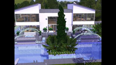 Modernes Haus Let S Build by Moderne Villa Bauen Inspirierend Sims 3 Haus Bauen Let S