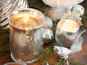 how to make mercury glass votives hgtv With kitchen colors with white cabinets with antique mercury glass candle holders