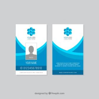 template id card gratis id cards vectors photos and psd files free