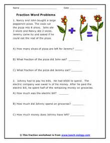 fractions word problems fraction word problems