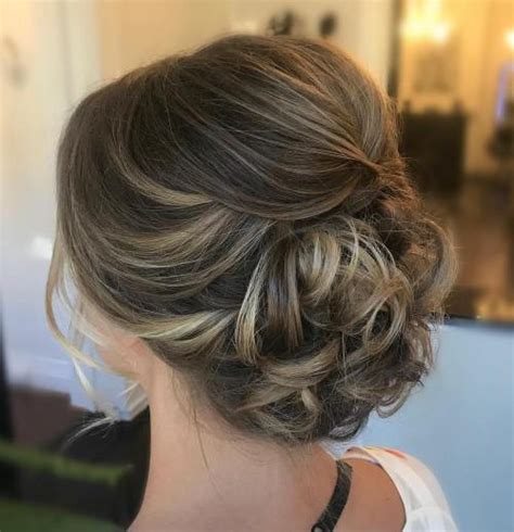 Updo Hairstyles For Curly Medium Length Hair by 60 Easy Updo Hairstyles For Medium Length Hair In 2018