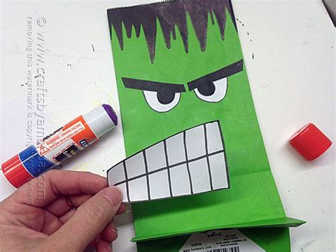 The Hulk Party Bag, Amanda Formaro