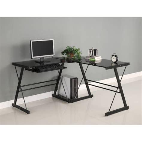 walker edison 3 contemporary desk walker edison soreno 3 corner desk black with black