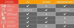 Kelvin Licht Tabelle : led leuchtmittel und ihre eigenschaften ~ Orissabook.com Haus und Dekorationen