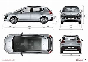 Dimension 2008 Peugeot : peugeot 3008 1 2009 2013 fiche technique dimensions ~ Maxctalentgroup.com Avis de Voitures