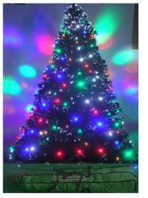 5ft fiber optic christmas tree pre lit