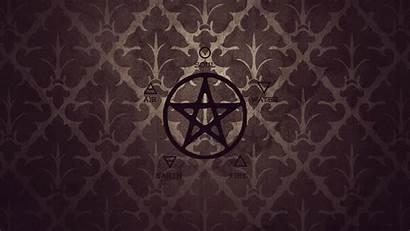 Wiccan Pentagram Pentacle Wallpapersafari Displaying