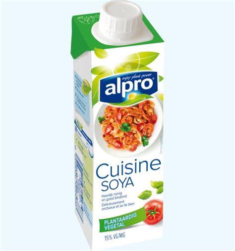 soya cuisine alternative végétale à la crème petit soya cuisine alpro