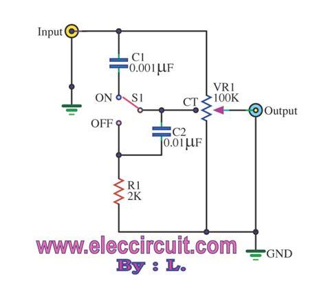 Passive Tone Control Circuit Under Repository Circuits