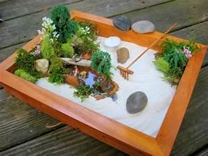 Zen Garten Miniatur : deluxe miniature zen garden ~ A.2002-acura-tl-radio.info Haus und Dekorationen
