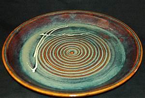 Wheel Thrown Stoneware Platter Handmade Pottery Platter