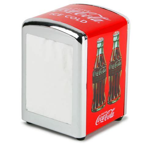 Besides good quality brands, you'll also find plenty of discounts when you shop for dispenser for cola during big sales. Coca Cola Napkin Dispenser | Drinkstuff