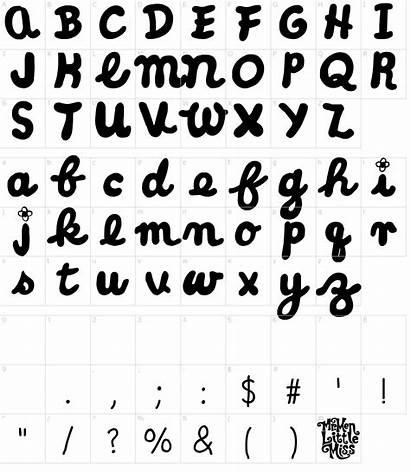 Font Cursive Miss Fonts Characters Fontmeme Character