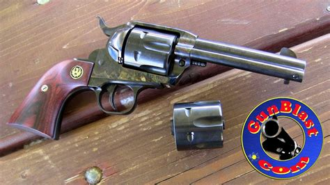 gun works custom ruger new vaquero 357 magnum 38 special 9mm convertible gunblast