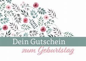 Gutschein Muster Geburtstag : geschenkgutschein zum geburtstag kostenlose vorlage zum download ~ Markanthonyermac.com Haus und Dekorationen
