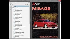 Mitsubishi Mirage  1999    Repair Manual