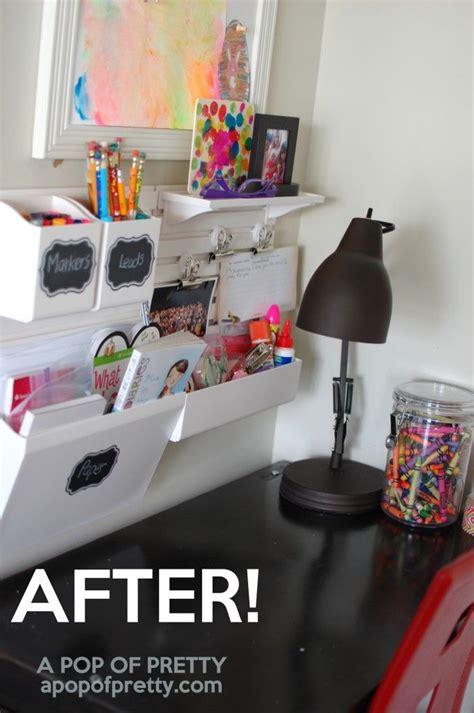 Corner Desk Organization Ideas by 25 Best Ideas About Kids Desk Organization On Pinterest