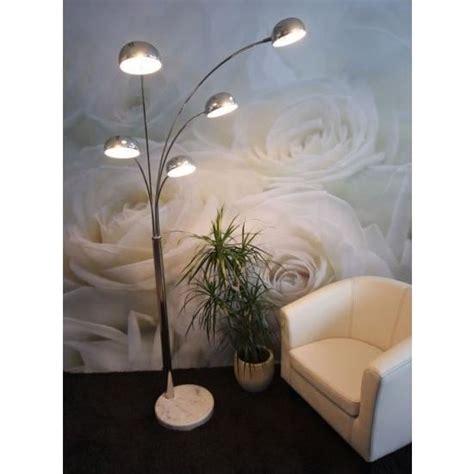 ladaire de salon 224 5 branches achat vente ladaire de salon 224 5 bra m 233 tal marbre