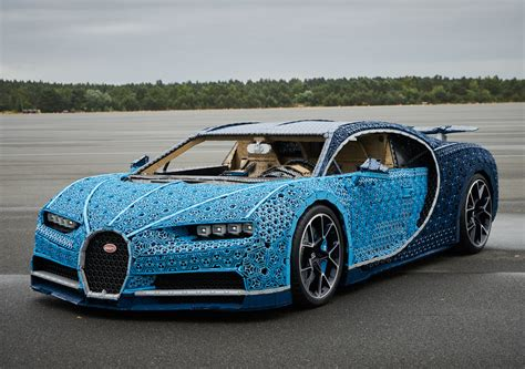 Lego Builds Fullsize Bugatti Chiron And It Actually