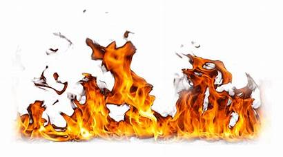 Fire Flame Burning Transparent Clipart Ground Smoke