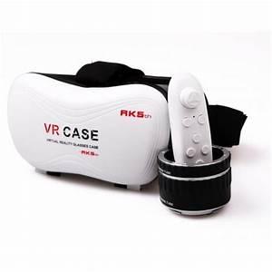 Virtuelle Realität Brille : vr case virtuelle realit t 3d vr brille f r 4 7 6 smartphone mit bluetooth gamepad ~ Orissabook.com Haus und Dekorationen