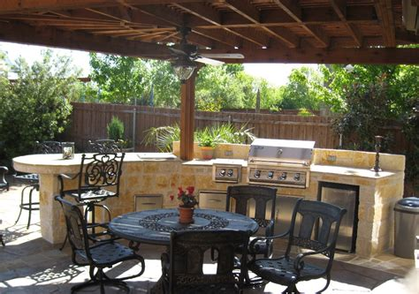 portable kitchen island designs outdoor kitchens by premier deck and patios san antonio tx
