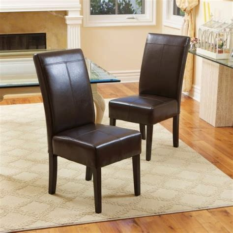 Leather Dining Room Chair by 13 Best Leather Dining Room Chairs In 2018 Leather Side