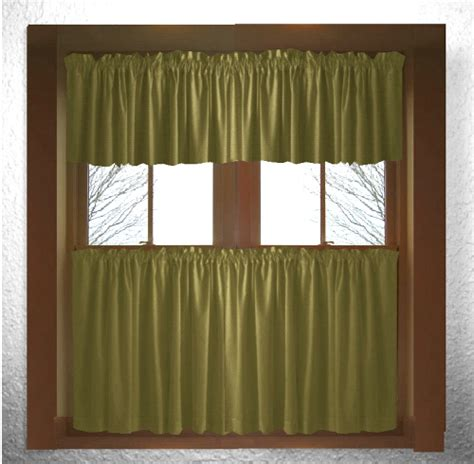 olive green kitchen curtains solid olive green kitchen cafe curtains 3669