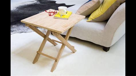 Comment Fabriquer La Table Pliante Bamboo