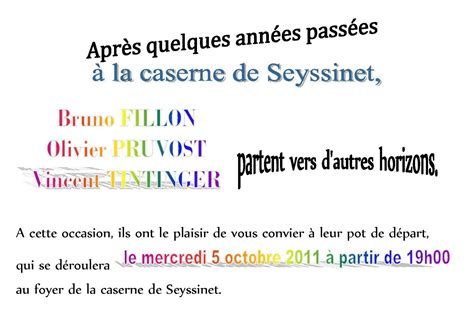 texte invitation pot de depart exemple invitation pot de depart
