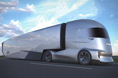 ford f vision semi truck concept uncrate