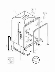 Frigidaire Pld2560lcc1 Dishwasher Parts
