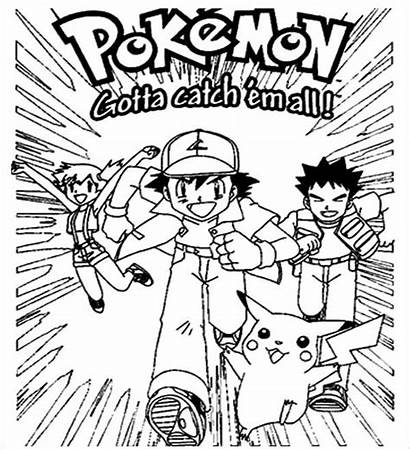 Pokemon Coloring Pages Poster