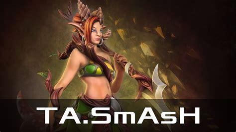 ta smash enchantress jun 6 2017 dota 2 patch 7 06 gameplay youtube