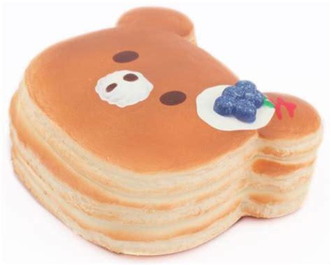 faulty big blueberry jumbo bear pancake squishy  puni