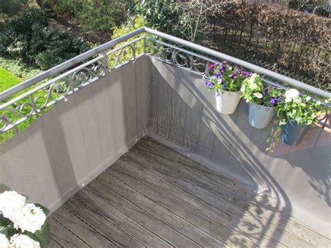sichtschutz balkon stoff balkon sichtschutz mit balkonbespannungen