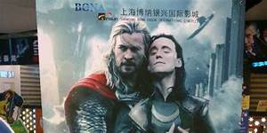 Chinese Movie Theater Uses 'Thor' Fan Poster By Accident