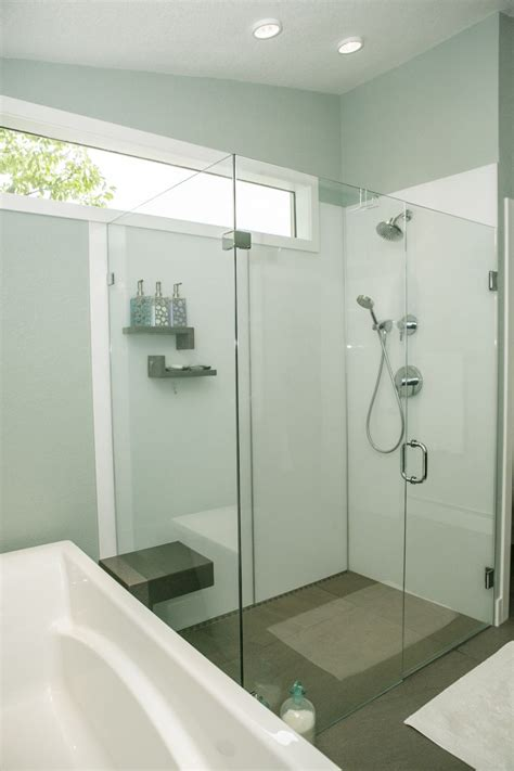 choose grout  shower  tub wall panels