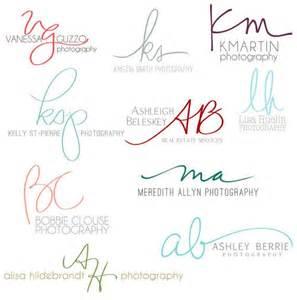 Handwritten Initials Logo Design