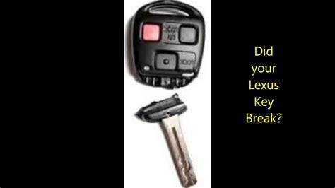 Lexus Key Shell Replaced- Broken Lexus Keys Fixed In San