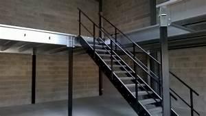 Mezzanine Metallique En Kit : plateforme stockage plate formes industrielles ~ Premium-room.com Idées de Décoration