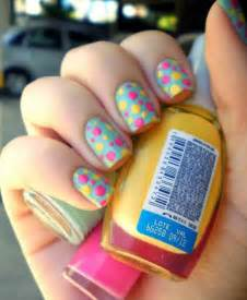 Easy summer nail art