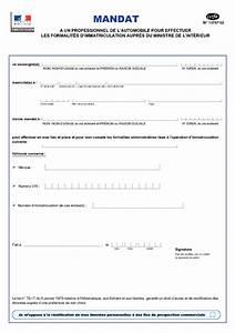 Document Pour Immatriculer Un Véhicule : mandat un professionnel de l 39 automobile pour effectuer les formalit s d 39 immatriculation ~ Gottalentnigeria.com Avis de Voitures
