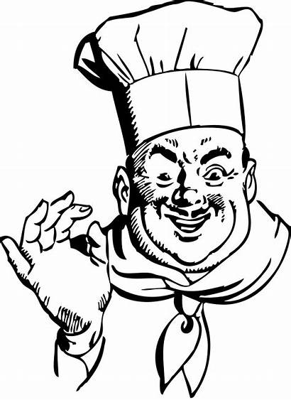 Chef Clipart Clip Catering Cliparts Restaurant Female