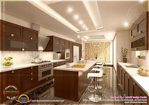 kitchen designs by aakriti design studio kerala home With kerala style kitchen interior designs